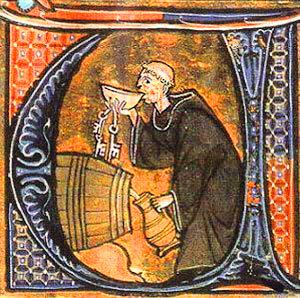 Cerveza en la edad media.