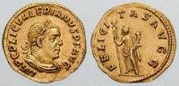 Monedas del emperador Valerio.
