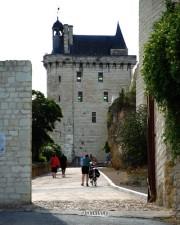 Castillo de Chinon Francia.