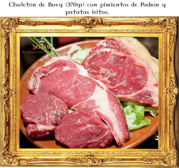 Chuleton de Buey Restaurante Beltane.