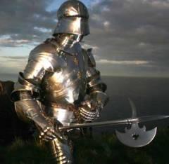 Armadura medieval.