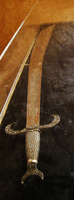 Espada Jineta Arabe.