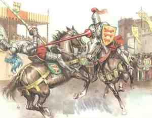 Justa Medieval.