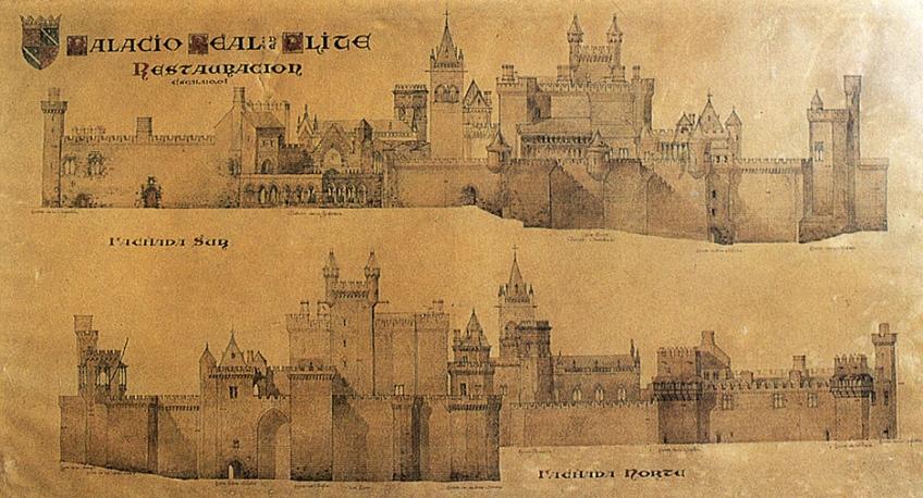 Castillo de Olite.